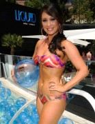 Cheryl Burke Wearing a Bikini at the Liquid Pool Lounge in Las Vegas on June 2, 2012