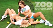 Дейзи Ваттс, фото 121. Daisy Watts & Amy Green - Sexy Wimbledon July 2012 LQ Tags, foto 121