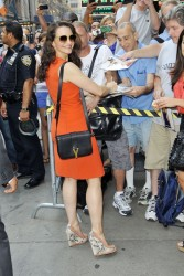 "Kristin Davis Looking Great while Visiting ""Good Morning America"" - 07.17.12"